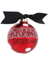 wine glass ornament 11 95 go arkansas ornament