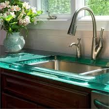 plan de travail cuisine verre design interieur plan de travail cuisine verre lavabo bouquet de