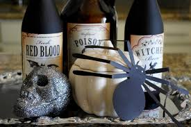 Diy Halloween Ornaments Diy Halloween Decorations Using Empty Wine Bottles