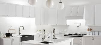 white pull kitchen faucet shop all kitchen faucets kohler kohler