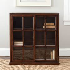 Book Cabinet With Doors by Amh6570a Bookcases Furniture By Safavieh