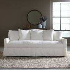 Slipcovered Sleeper Sofa Sofas U0026 Sectionals Birch Lane