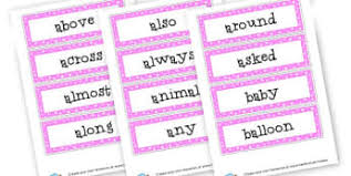 ks2 year 4 maths word cards primary resources year 4 page 1
