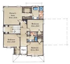 2nd floor house plan lifetime series homes by mueller homes inc