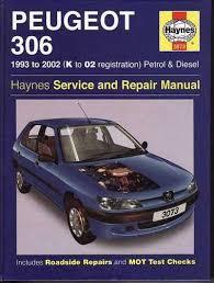 peugeot 306 workshop manual 28 images peugeot 306 manual de