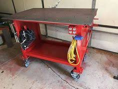 diy portable welding table welding table picture thread page 13 metal projects pinterest