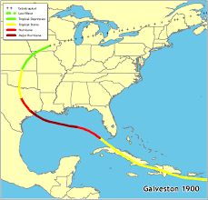 map of galveston noaa 200th feature stories the great galveston hurricane of 1900 map