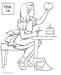 valentine coloring pages 020