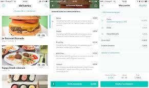 cuisiner a domicile et livrer 5 applications gratuites pour se faire livrer à manger sur iphone et