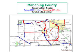 Map Of Youngstown Ohio by Details Odot U0027s Valley Construction Plans Wfmj Com News Weather