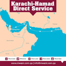 Qatar Route Map by Qatar And Pakistan Launch New Direct Ship Route The Peninsula Qatar