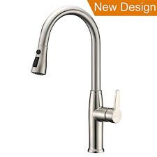 cheap kitchen sink faucets cheap brushed nickel refin pause function kitchen faucet single