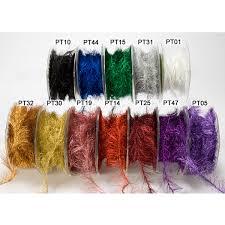 wholesale wired ribbon 25 yards metallic eyelash wired ribbon may arts wholesale ribbon