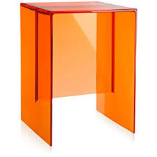 Orange Side Table Kartell 9900at Max Beam Side Table Stool Orange Co Uk