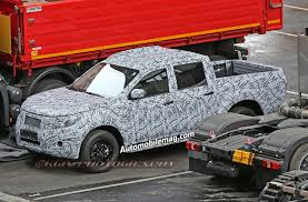 mercedes pickup truck mercedes benz glt pickup truck spied at testing facility