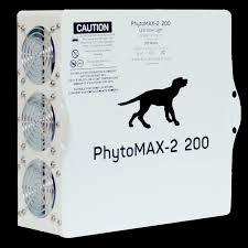 200 watt hps light shop black dog led grow lights phytomax p 2 200 led grow light