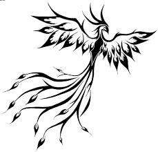 flying birds tattoo designs flying slim phoenix tattoo design tattoo pinterest phoenix