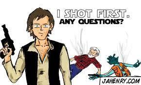 Han Shot First Meme - image 537830 han shot first know your meme