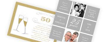 anniversary invitations wedding anniversary invitations