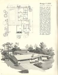 Vintage Floor Plans by Interior Mid Century Modern Home Floor Plans Throughout