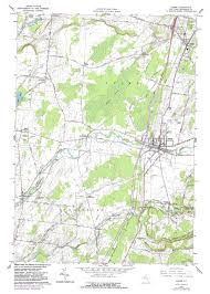 New York Street Map by New York Topo Maps 7 5 Minute Topographic Maps 1 24 000 Scale