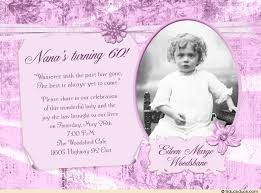 60th birthday invitation dainty scrapbook party photo