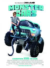 monster truck shows 2016 monster trucks movie poster 3 of 4 imp awards
