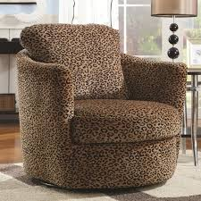 Swivel Chairs Living Room Upholstered by Upholstered Patterned Club Chair Swivel Chairs For Living Room