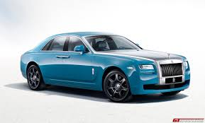 roll royce ghost blue official 2013 rolls royce ghost alpine trial centenary edition