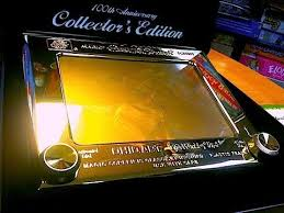 etch a sketch in solid gold and the first etch a sketch toy