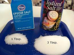 Difference Between Epsom Salt And Table Salt Puffy Snowflakes By