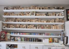 Craft Studio Ideas by Richele Christensen Craft Storage Ideas Guest Blogger