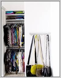 Closet Hanger Organizers - purse organizer for closet ideas home design ideas
