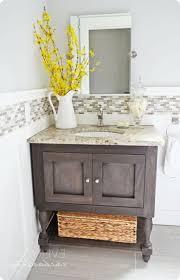 Wood Bathroom Vanity by Lovely Weathered Wood Bathroom Vanity And Best 25 Dark Vanity
