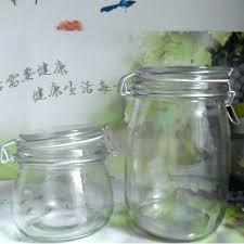 Bathroom Glass Storage Jars Glass Storage Jars Bathroom Small Glass Storage Jars With Lids