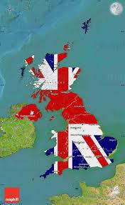 Outside Flag Flag Map Of United Kingdom Satellite Outside