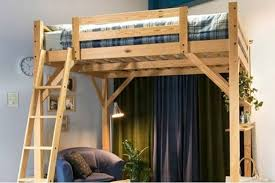 Free Loft Bed Plans Queen by Top 5 Bedding Options For A Studio Apartmentcozyhomez Cozyhomez