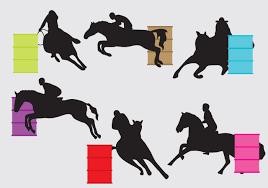 ferrari horse outline horse racing vector 1530 free downloads