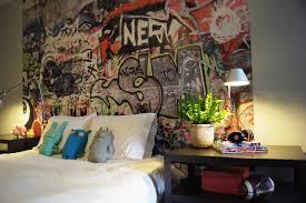 bedroom amazing graffiti bedroom interior design for home