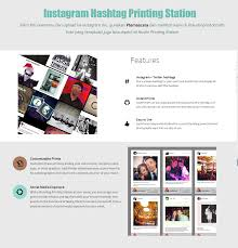 instagram hashtag printing station by austin photobooth