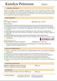 Resume For Charge Nurse Nurse Resume Templatern Resume Resume Service Nurses Nurse