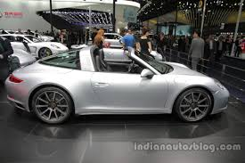 porsche 911 price 2016 2016 porsche 911 targa 4 side profile at auto china 2016 indian