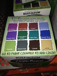 chalkboard paint colors home depot