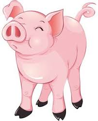 animated clip art free cartoon pig cute shady 2 clipartix