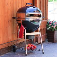 Master Forge Patio Barrel Charcoal Grill by Master Touch 22 In Charcoal Grill Black Hayneedle