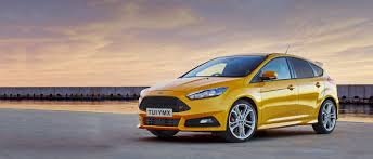 ford focus st hatch performance car ford uk