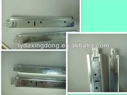 tbar aluminum wall shelves with hanger shelftrack image