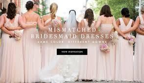 fashion news bridesmaid dresses inside weddings