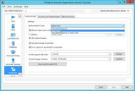 smart card authentication configuration parallels blog