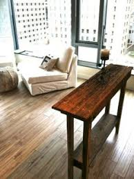 primitive reclaimed wood table 7ft long for deck as a buffet for